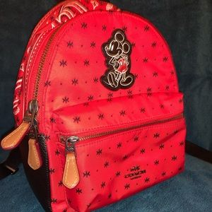 Mickey Mouse mini backpack by Coach